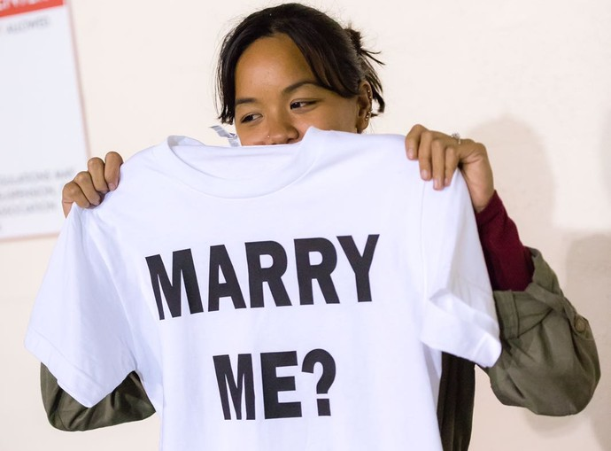 Ashton Surber pedido de casamento (Foto: Arquivo Pessoal)