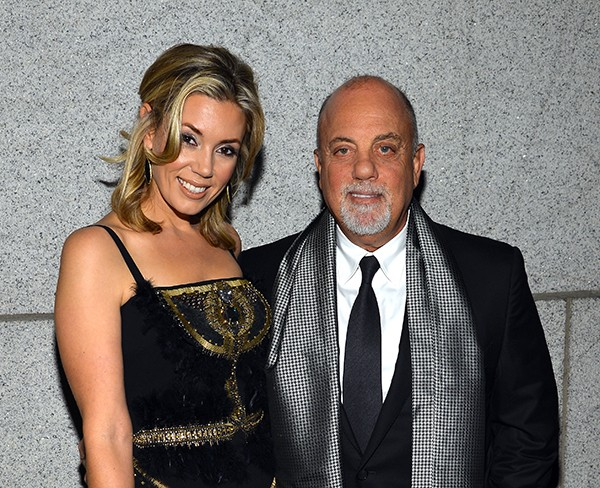 Billy Joel e Alexis Roderick (Foto: Getty Images)