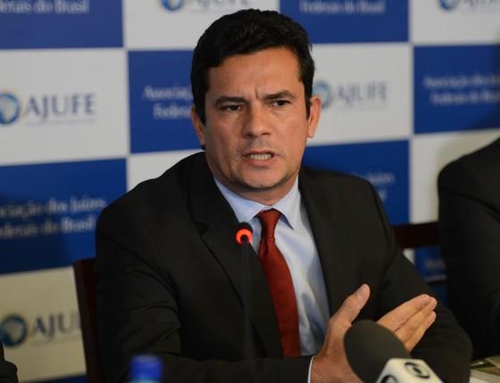 O juiz federal Sergio Moro, responsável pelos processos da Operação Lava Jato (Foto: Fabio Rodrigues Pozzebom/Agência Brasil)