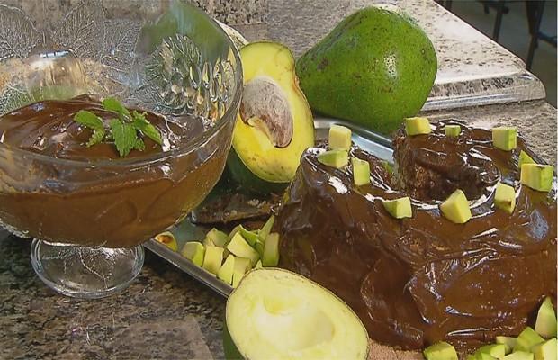 Mousse de chocolate com abacate (Foto: Reprodução EPTV)