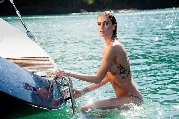 Vivi Orth em uma das fotos de seu ensaio para a PlayboyVivi Orth  (Foto: Divulgação/André Passos/ Revista Playboy)