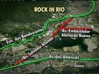 Vias ao redor da Cidade do Rock são fechadas na manhã desta sexta