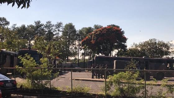 Reforço do Exército na segurança do Palácio do Planalto (Foto: ÉPOCA)