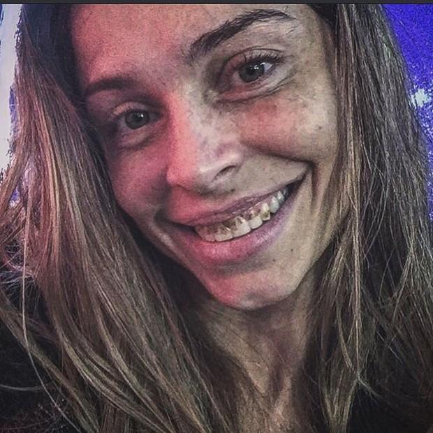Grazi Massafera como Larissa, de Verdades secretas (Foto: Instagram/ Reprodução)