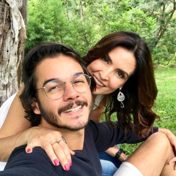Túlio Gadelha e Fátima Bernardes (Foto: Instagram/Reprodução)