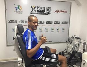 Wendel, volante Ponte (Foto: Divulgação PontePress)
