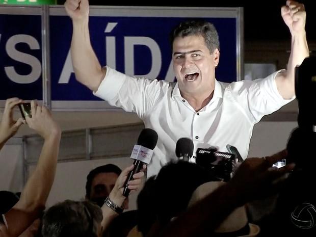Emanuel Pinheiro (PMDB), novo prefeito de Cuiabá (Foto: Reprodução/TVCA)