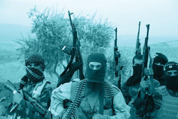 2014, SÍRIA: com discurso religioso, os extremistas do Estado Islâmico tornaram-se um dos grupos mais violentos da atualidade (Foto: Medyan Dairieh/ZUMA Wire)