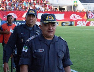 Coronel Francisco Araújo, comandante da Polícia Militar do RN (Foto: Augusto Gomes)