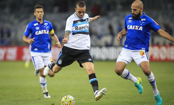 Cruzeiro x Grêmio Luan (Foto: Thomas Santos / Agência Estado)