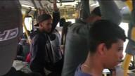 Vídeo mostra superlotação em ônibus que sai do bairro Gilson Carone, em Cachoeiro, ES