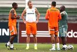 Marlon, Guilherme Mattis e Fabrício, treino Fluminense