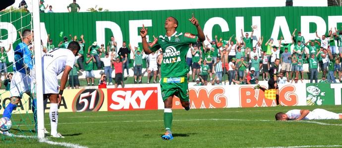 Bruno Rangel gol Chapecoense (Foto: Junior Matiello / Ag. Estado)