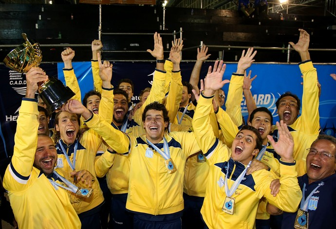 Polo Aquático masculino - seleção (Foto: Satiro Sodré/CBDA)