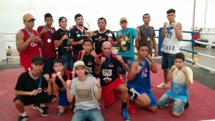 Boxeadores abrem circuito estadual em Terenos neste fim de semana (Foto: Divulgação/FDBMS)