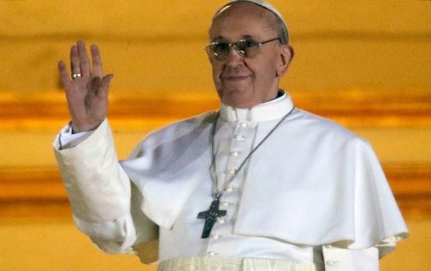 Novo Papa foi escolhido na quarta-feira (13) (Foto: Gregorio Borgia/AP)