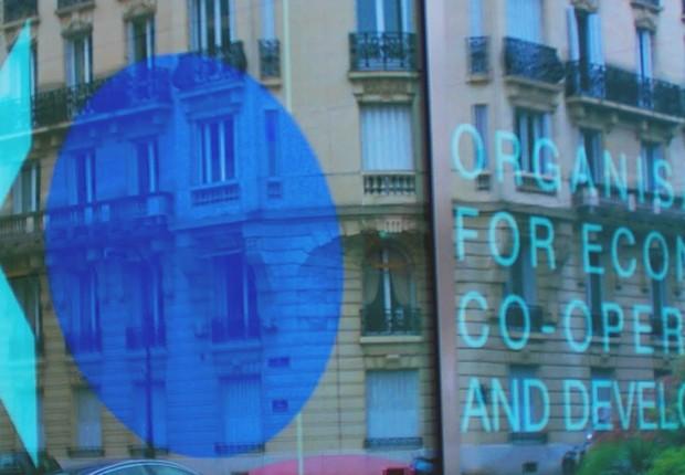 Sede da Organização para a Cooperação e Desenvolvimento Econômico (OCDE)  (Foto: Reuters)