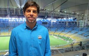 Juninho Pernambucano Comentarista (Foto: Gustavo Rotstein)