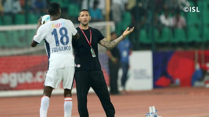 Goa x Chennaiyin Liga da Índia (Foto: Divulgação / ISL)