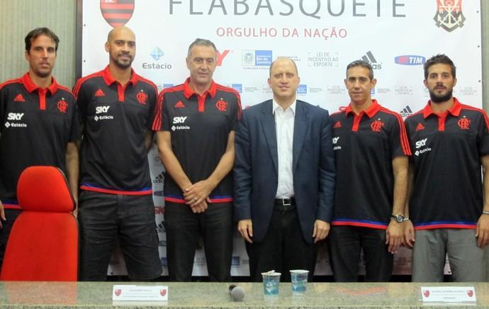 Flamengo Basquete (Foto: Marcello Pires)