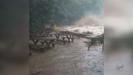 Chuva forte causa transtornos em Analândia e Pirassununga, SP