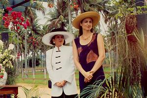 Isabel (Lúcia Alves) e Letícia (Sílvia Pfeifer) em Tropicaliente.