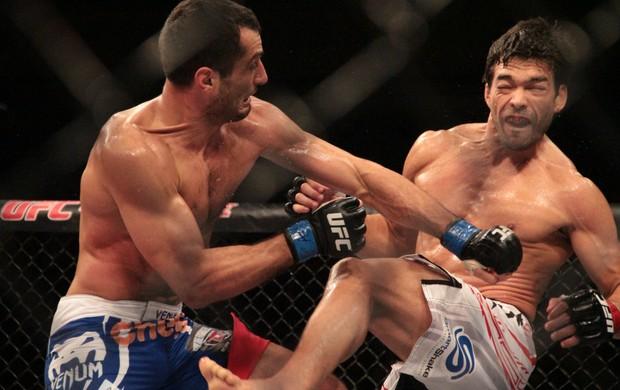 Gegard Mousasi Lyoto Machida UFC Jaraguá do Sul (Foto: Rodrigo Malinverni)