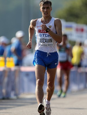 Andrey Ruzavin da marcha atlétioca sofre suspensão de dois anos e meio por doping (Foto: Getty Images)