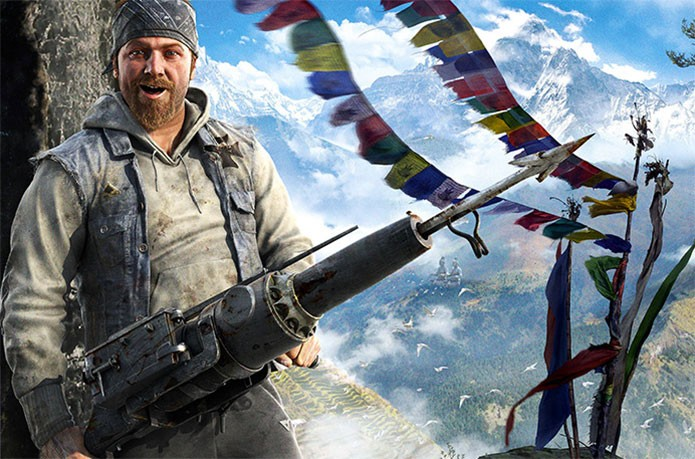 O Arpão é uma das armas mais poderosas de Far Cry 4 (Foto: Divulgação)