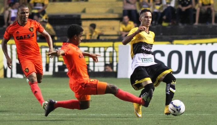 Douglas Moreira Criciúma Sport (Foto: Fernando Ribeiro / Criciúma EC)