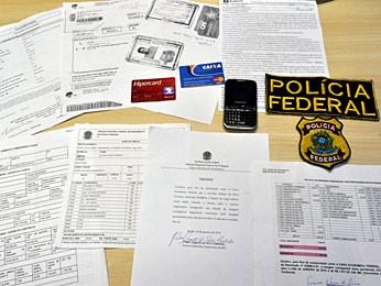 PF-PE prende suspeito de tentativa de estelionato (Foto: Divulgação / Polícia Federal)