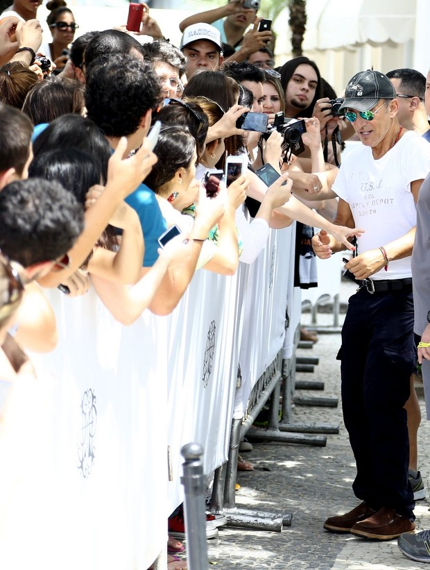 Bruce Springsteen (Foto: Gabriel Reis e André Freitas/ Ag. News)