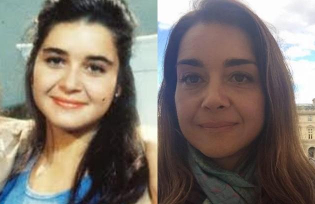 Longe das novelas desde 'Suave veneno' (1999), Alexandra Marzo deu vida a Elizabeth, uma jovem tímida e romântica. Era amiga de Ana Paula (Cláudia Abreu) (Foto: TV Globo/Reprodução)