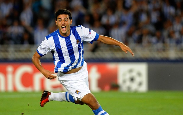 Carlos Vela gol Real Sociedad (Foto: AFP)