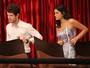 Ben e Mari interrompem encontro de Izabelita e Dom Peppino
