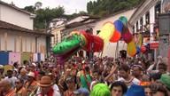Blocos se revezam nas ladeiras históricas de Ouro Preto