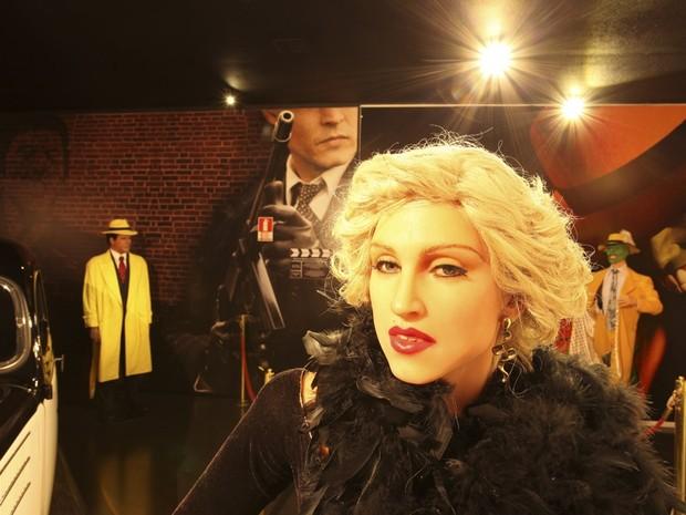Madonna é uma das atrações do Museu de Cera de Gramado (Foto: Divulgação/Prefeitura de Gramado)