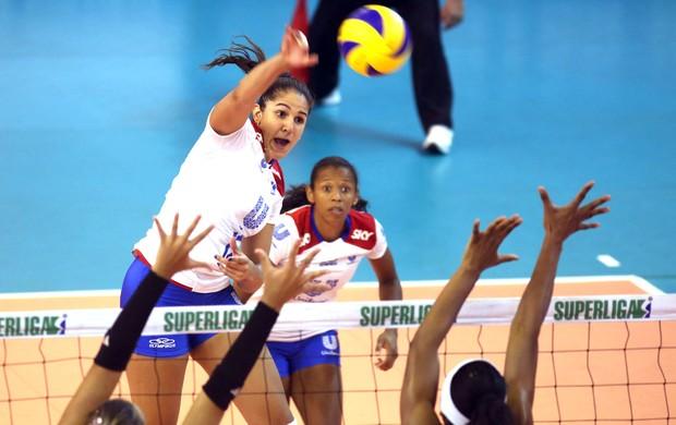 Vôlei, Natália, SÃO CAETANO X UNILEVER (Foto: Luiz Doro / Adorofoto)
