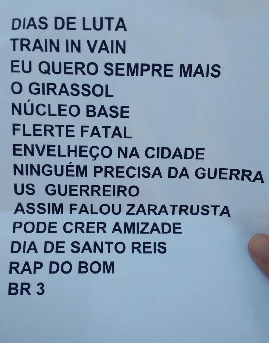 Setlist Ira Rappin Hood & Tony Tornado Rock in Rio 2015 (Foto: Multishow)