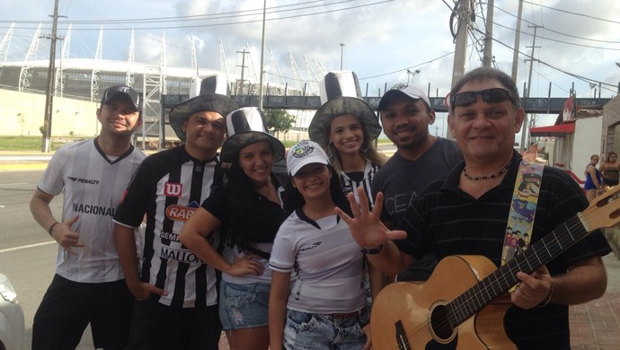 Ceará, Torcida, Copa do Nordeste, Música (Foto: Yngrid Matsunobu)
