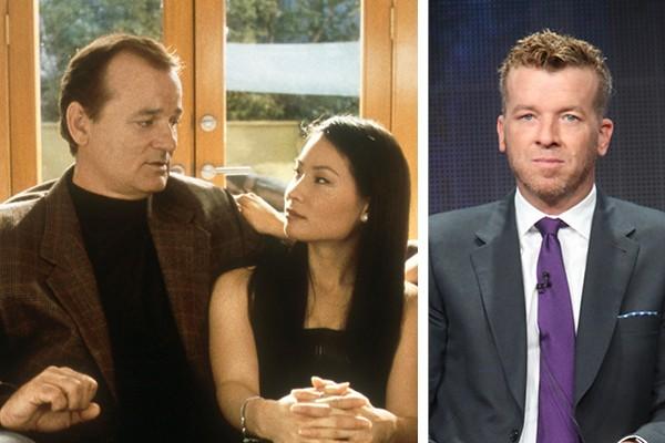 Bill Murray, Lucy Liu e McG em 'As Panteras' (2000) (Foto: Reprodução / Getty Images)