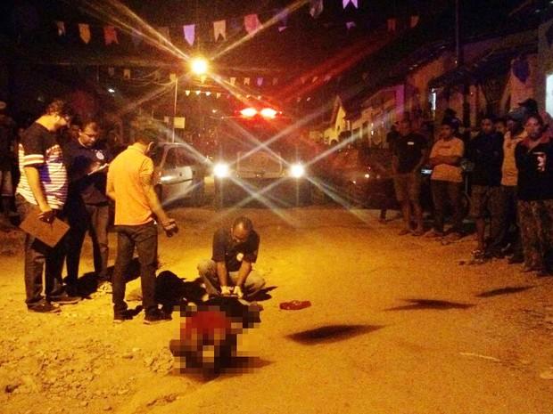 Vítima já cumpriu pena por tráfico de drogas, segundo polícia (Foto: Uinderlei Guimarães/ SulBahiaNews)