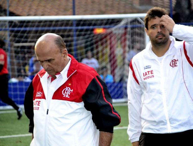José Moraes, técnico Flamengo Futebol de 7 2 auxiliar alexandre (Foto: Davi Pereira/Jornal F7)
