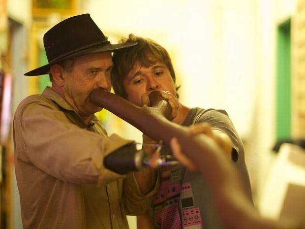 O produtor musical Guto Guerra, que apresenta o programa Música na Mochila (Foto: Divulgação)