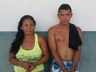 Casal é preso com 43 papelotes de pasta base de cocaína em Roraima