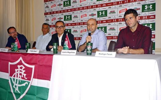 Fluminense e Under Armour anunciam contrato de três anos (Foto: Mailson Santana / Fluminense)
