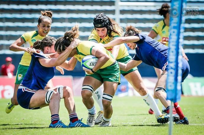 Seleção feminina de rúgbi (Foto: João Pires/Fotojump)