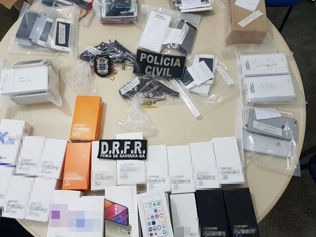 Operação foi resultado de seis meses de investigação da polícia (Foto: Divulgação/ Polícia Civil)