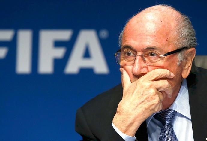 Blatter FIFA (Foto: Agência Reutes)