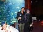Rayanne Morais usa roupa muçulmana na lua de mel em Dubai